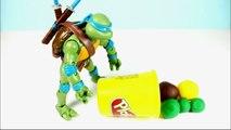 Turtles Ninja (T.M.N.T) Play Doh Stop Motion Animation (Animación)
