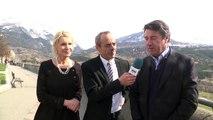 D!CI TV : Hautes-Alpes/législatives 2017 : Christian Estrosi apporte son soutien à la candidature de Chantal Eyméoud