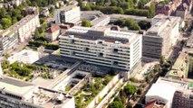 Nouveau bâtiment d'hospitalisation. Un défi technique