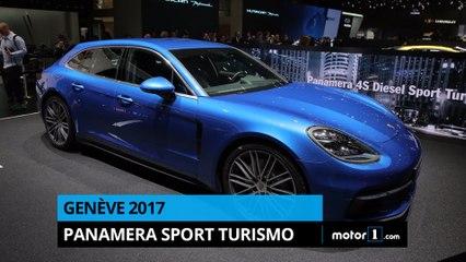 Genève 2017 - Présentation de la Porsche Panamera Sport Turismo
