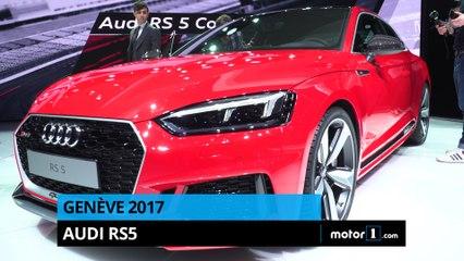 Genève 2017 - Présentation de l'Audi RS5 Coupé