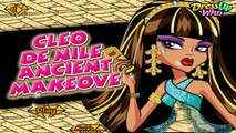 Cleo De Nile Ancient Makeover Games-Monster High Games-Hair Games