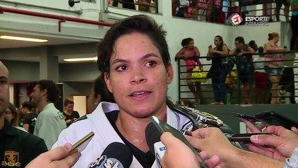Amanda Nunes fala sobre derrota de Ronda Rousey