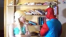 Шутник и баловень похитил замороженные elsa помог Человек-Паук Человек-Паук против Джокера ИРЛ новая