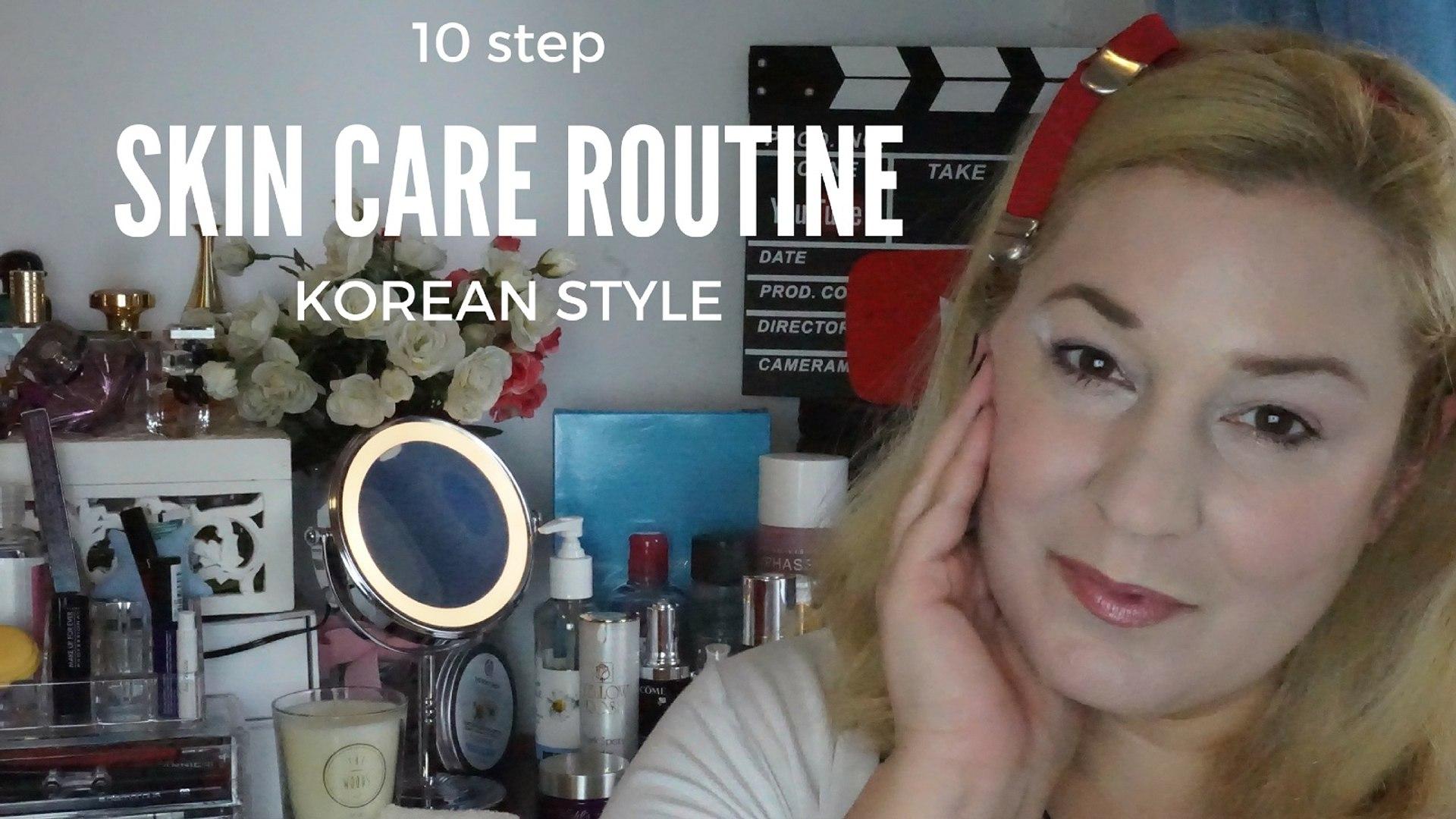 10 step skincare routine (Korean Style) - GR