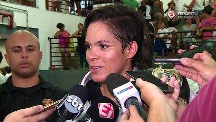Amanda Nunes fala sobre Vitor Belfort