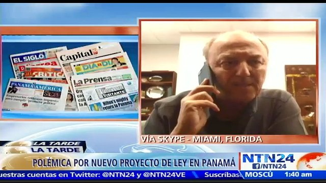 """""""A veces las buenas intenciones terminan en malas acciones"""": Ricardo Trotti, director ejecutivo de la Sociedad Interamericana de Prensa, sobre nuevo proyecto de ley en Panamá"""