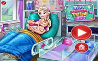 Elsa Mommy Twins Birth - Baby Birth and Care Game For Kids