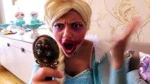 Ugly Frozen Elsa Makeup From Maleficent Prank Vs Spiderman