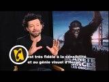 Interview Andy Serkis - La Planète des singes : les origines - (2011)
