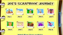 BLUES CLUES - Joes Scrapbook Journey - New Blues Clues Game - Online Game HD - Gameplay