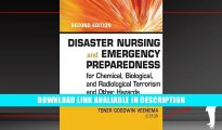 Free PDF Disaster Nursing and Emergency Preparedness for Chemical, Biological and Radiological