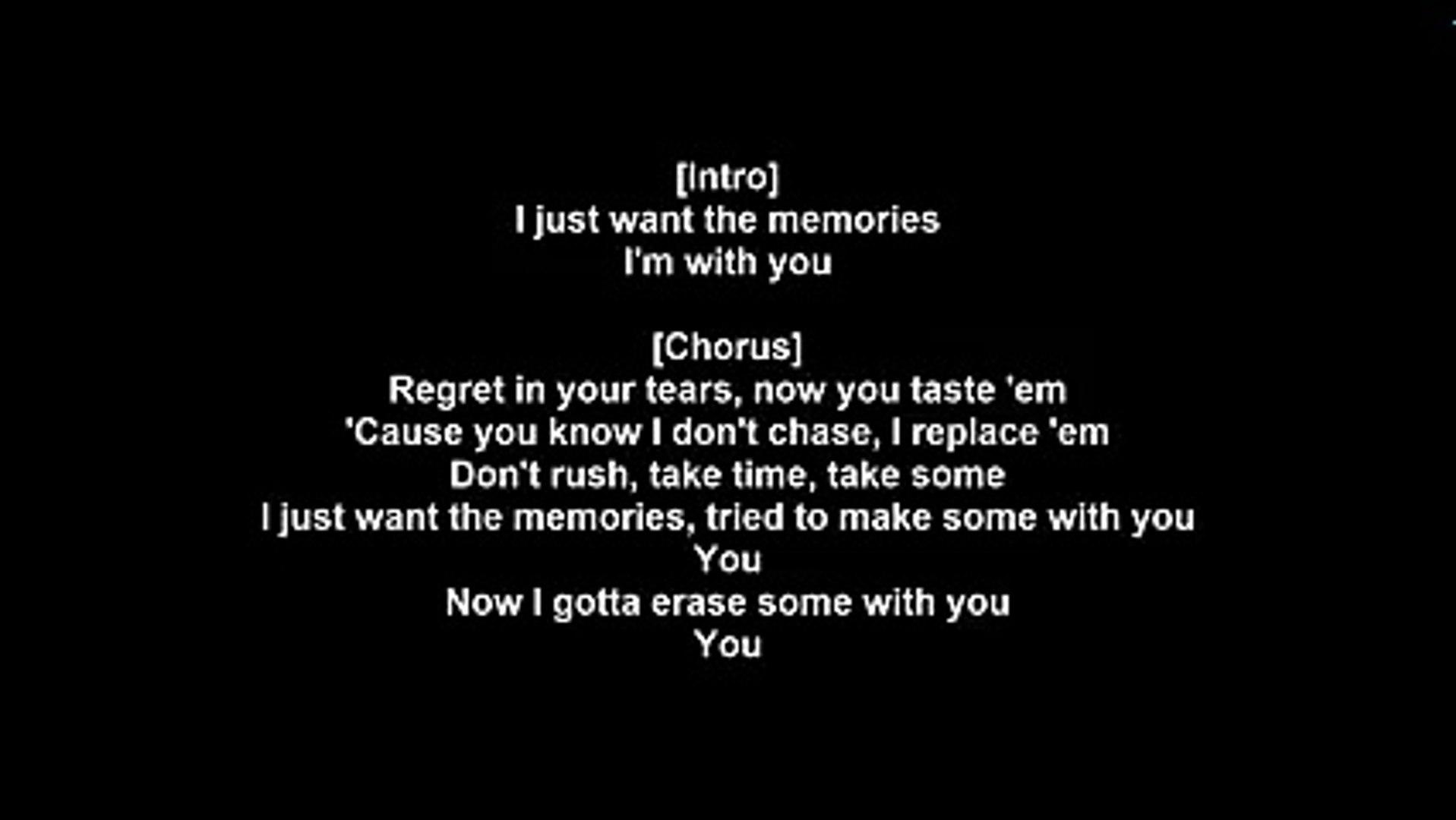 Nicki Minaj - Regret In Your Tears (Lyrics)