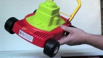 Toy Garbage Truck vs Lawn Mower Toys vs Lego MEGA Blocks | Fun Kids Indoor Play in 4K!