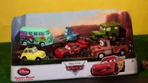 Flash Mcqueen ★ CARS et CARS 2 les figurines ★ Rayo Mcqueen ★ CARS las figuras