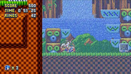 Green Hill Zone Act 2 Raw de Sonic Mania