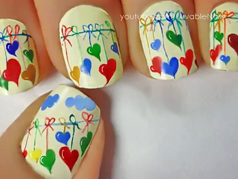 Easy nail designs for beginners to do at home – Cute Nail designs DIY nail designs tutorial(1)