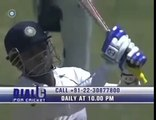 Sehwag shocked commentator!!! must watch for sehwag fans.