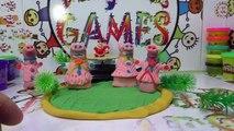 Giant Surprise Eggs Unboxing _ Kinder Surprise Peppa Pig Giant Egg Surprise - P