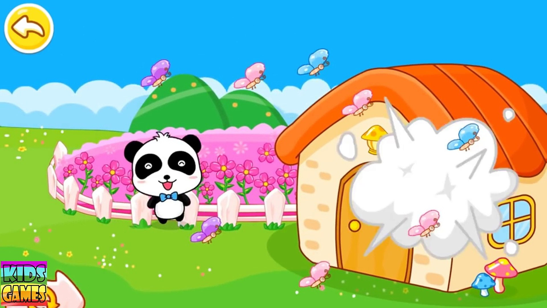 Travel Safety Tips, Kids learn attention to safety, Education Panda game for kids by Babyb