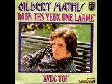 Gilbert Mathis Dans tes yeux une larme (1973)