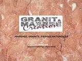 Granit et Marbre Création, marbres, granits et pierres naturelles à La Tremblade.