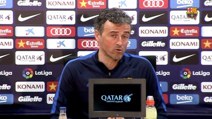 Luis Enrique: 'I trust my players' experience, they know there is a lot at stake'