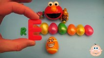 Kinder Surprise Egg Learn-A-Word! Spelling Play-Doh Shapes! Lesson 6 (Teaching Letters Ope