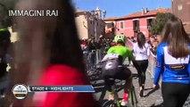 Tirreno Adriatico - Stage 4 Highlights