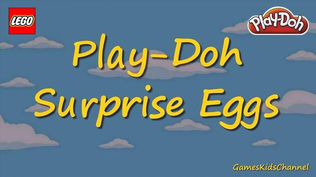 BART SIMPSON Giant Play-Doh Surprise Egg Legos Simpsons Series 2 Blind Bags