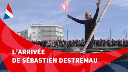 J125 : L'arrivée de Sébastien Destremau / Vendée Globe