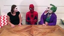 Bad Baby Joker Girl Breaks Spidermans Phone w/Bad Baby Victoria Messy Toy Room in Real Li