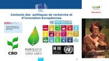 Solutions fondées sur la nature : inititiaves européennes (Horizon 2020, OPPLA THINKNATURE, URBACT…) par Julie Delcroix, chargée de mission Renaturation des villes, DG recherche de la Commission européenne