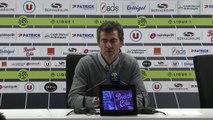 La réaction de Rui Almeida après EAG-Bastia (5-0)