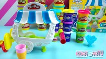 Dough Sweets Playset DIY Learn to Mold Play Doh Popsicles Sundaes Ice Cream Cone