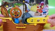 Play Doh Pirate Adventure Ship Disney Jake and the NeverLand Pirates Playdough Aventura Pi