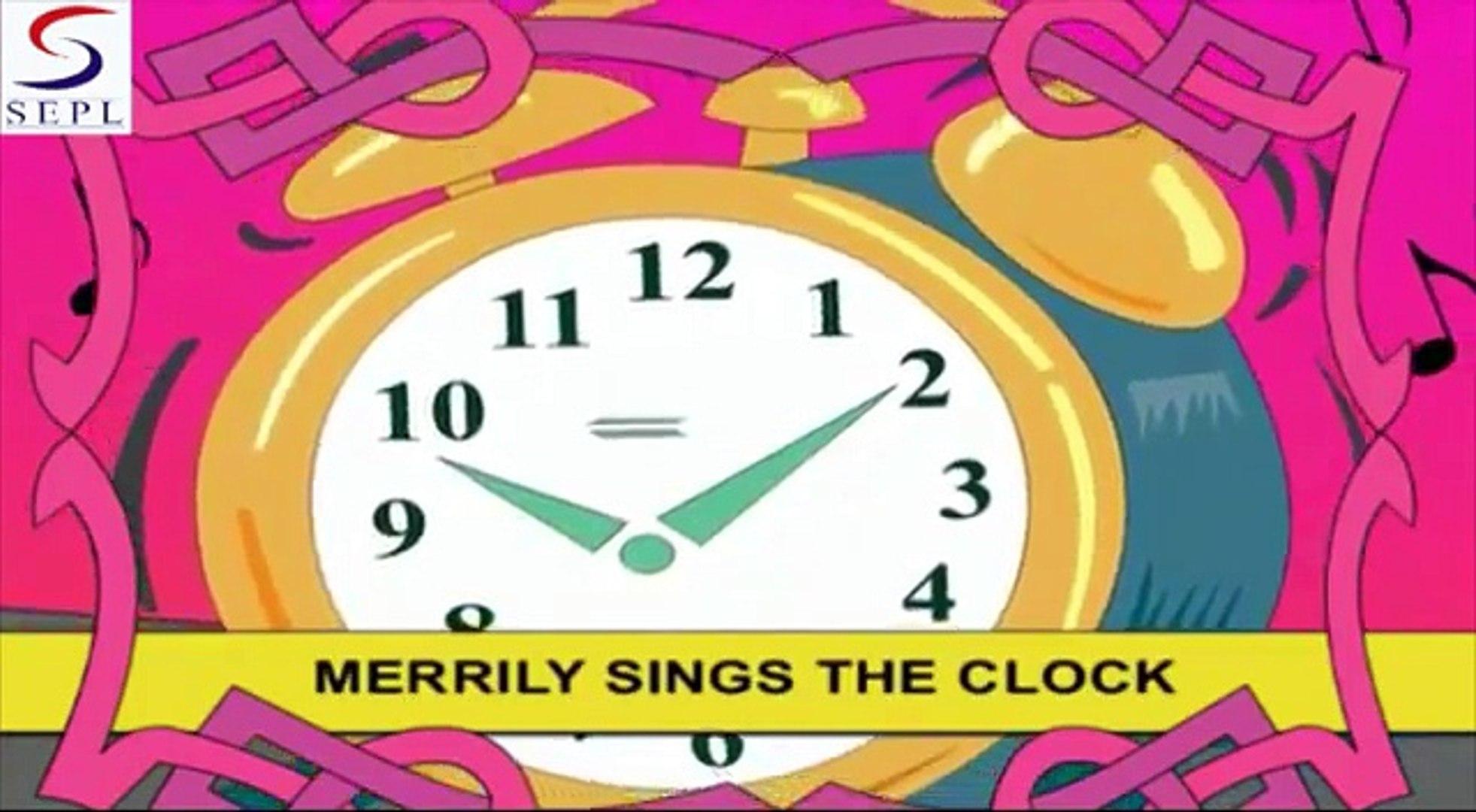 Tik Tok Tik Tok - Children Songs & Nursery Rhymes In English With Lyrics