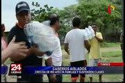 Piura: fuertes lluvias dejan miles de afectados
