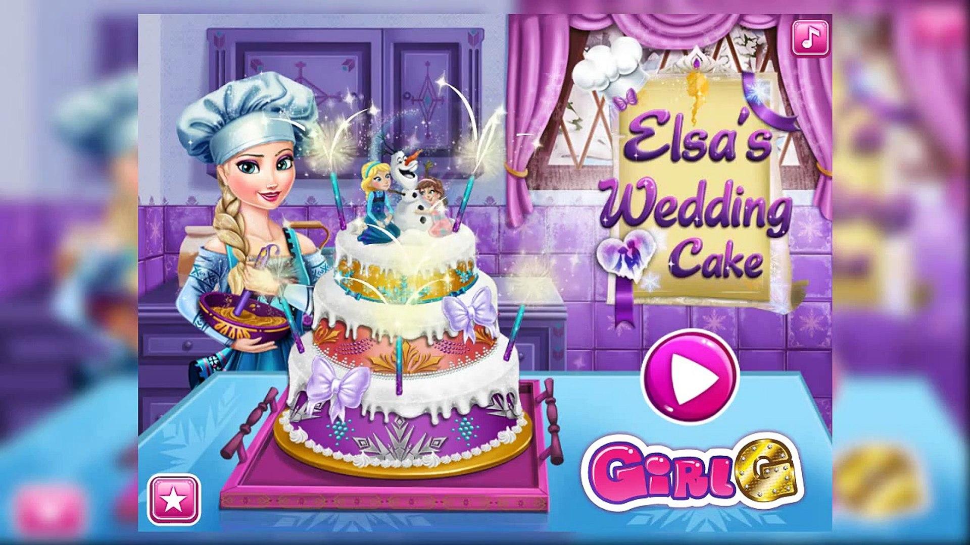 Кекс мультфильм дисней Эльзы для замороженные игра к к к к к к кино Принцесса свадьба |