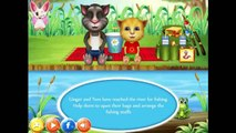 Tom And Ginger Fishing Day - Talking Tom and Friends