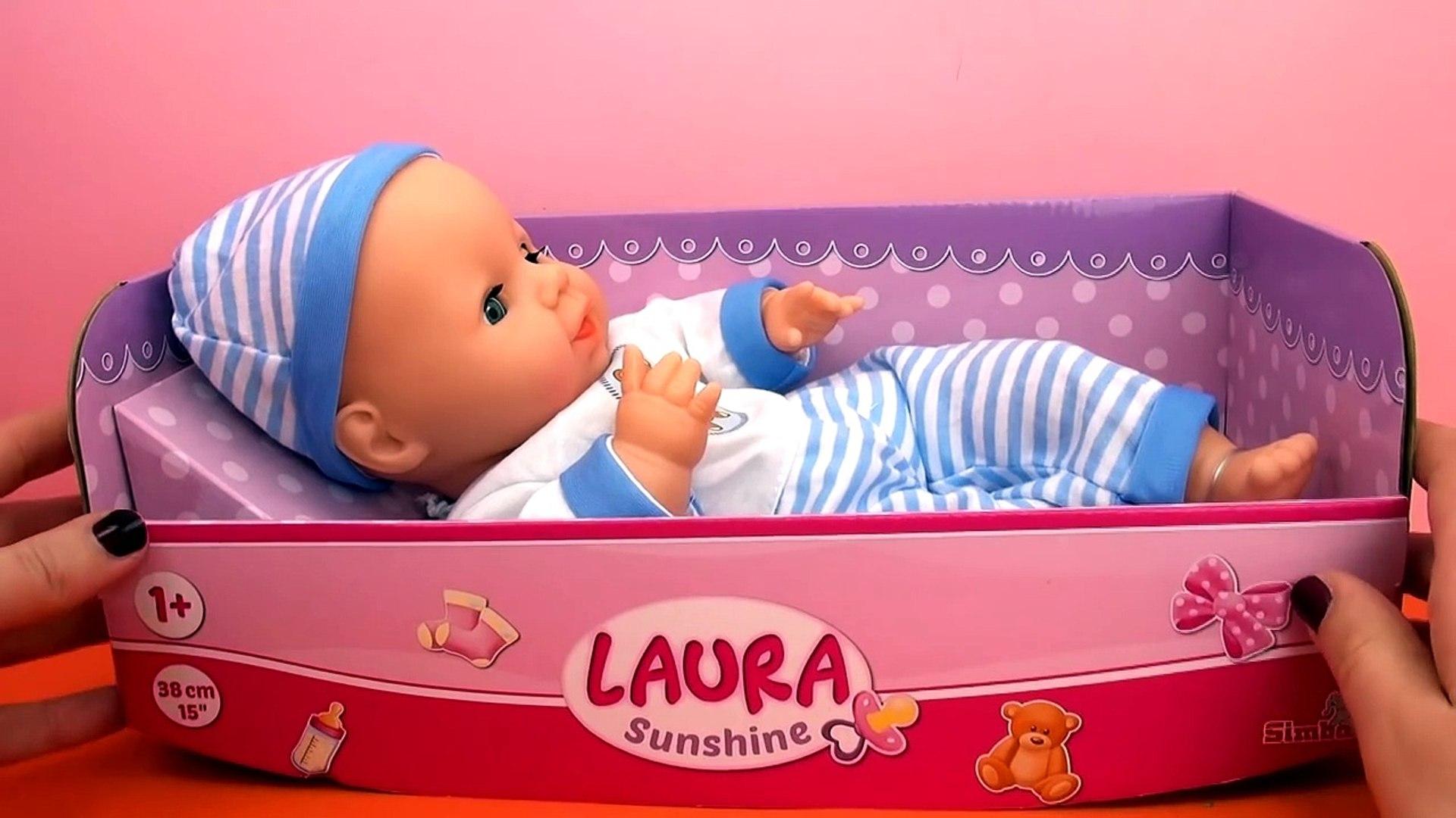 И Любовь мой Мы о о a Обзор распаковка ребенок-кукла Лоры солнце Simba 105015191 |
