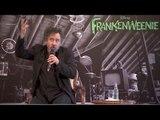 Tim Burton en conférence de Presse a Paris pour FrankenWeenie