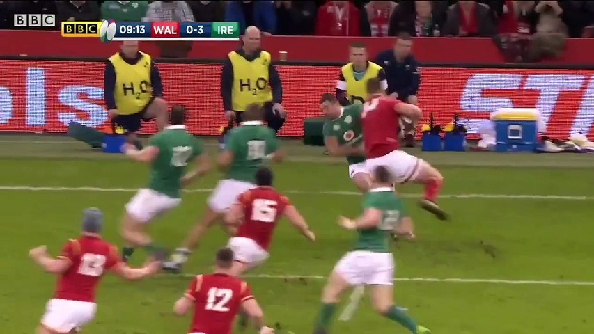 The Most Physical 30 Seconds of Rugby Ever-