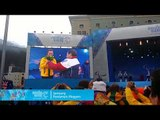 Jessica Gallagher: Australia's first medal of Sochi at  the Medals Plaza   Rosa Khutor