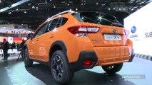 Subaru XV : pour convaincre - En direct du salon de Genève 2017