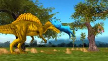 Colors Animals Dinosaurs Lion Elephant Finger Family Nursery Rhymes | Colors Songs for Kid