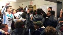 Coupe Gambardella : énorme ambiance dans le vestiaire de l'OM après sa victoire face au Havre