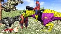 Dinosaurs Fighting | Dinosaurs Godzilla Animal Fights Cartoon Video | Dinosaur Cartoons Fo