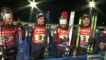 Biathlon - CM : Fillon Maillet «Un beau match avec Peiffer»