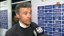 Luis Enrique: ' We lacked flow and clarity '
